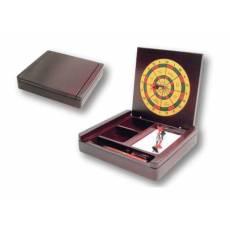 Настольный прибор с бумажным блоком, ручкой и дартсом 515959