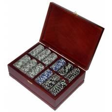 Набор покерный: 500 фишек, колода карт и кости Rovertime RTP-21