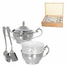 Чайный набор на 6 персон Chinelli 2069501