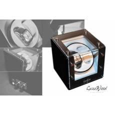 Шкатулка с автоподзаводом для 2-х часов LuxeWood LW421-1