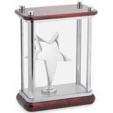 """Статуэтка """"Звезда"""" в стекле Linea del Tempo A04SBR"""