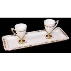 Кофейный набор на 2 персоны TICHE 7018/TICHE