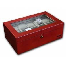 Шкатулка для 10 хранения часов Luxewood LW801-10-2