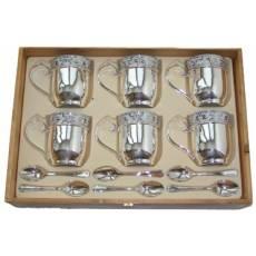 Чайный набор на 6 персон Chinelli 2068501