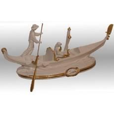 """Статуэтка """"Венецианская гондола"""" Porcellane Principe 680CB/PP"""