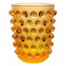 Ваза Mossi amber LALIQUE 10029000