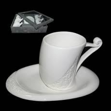 Набор для кофе на 6 персон Tearoom HJ1378-220-F6