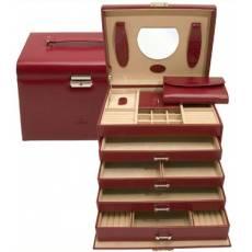 Шкатулка для драгоценностей и украшений с дорожной сумочкой WindRose WR3696