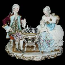 "Статуэтка ""Игра в шахматы"" Tiche 341/TICHE"