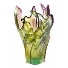 """Ваза для цветов """"Cattleya by Emilio Robba"""" (h=20) Daum 03847"""