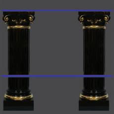 Колонны с полками Ahura V1101(Q15/50CZ)NO