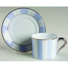 "Чайная чашка с блюдцем ""Galerie Royale Blue Wallis"" BERNARDAUD 89GalerieRoyaleBlueWallis"