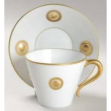 """Чашка чайная с золотым рисунком """"Ithaque Or"""" BERNARDAUD 5448IthaqueOr"""