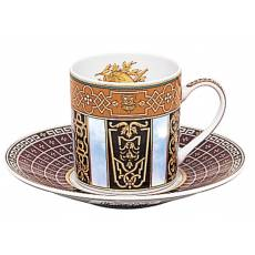 """Кофейная чашка с блюдцем """"Grand Versailles"""" BERNARDAUD 79GrandVersailles"""