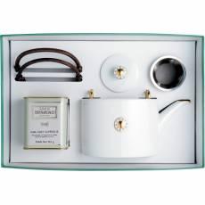 """Набор из чайника и чая """"Shanghai gold"""" BERNARDAUD 8459Shanghaigold"""