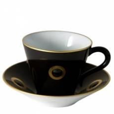 """Чашка для эспрессо с блюдцем """"Stromboli"""" BERNARDAUD 20833Stromboli"""