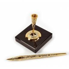 Ручка на каменной подставке Златоуст Авторские работы RV21885CG