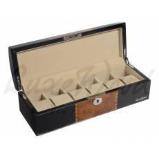 Шкатулка для хранения 6 часов Luxewood  LW807-6-1