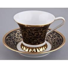 """Чашка чайная с блюдцем """"Byzantine"""" Rudolf Kampf 57120415-2244k"""