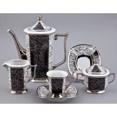"""Сервиз кофейный - Мокко """"Empire"""" Rudolf Kampf 54160713-2335k"""