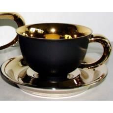 """Чашка чайная с блюдцем """"Kelt"""" Rudolf Kampf 52120411-251Bk"""