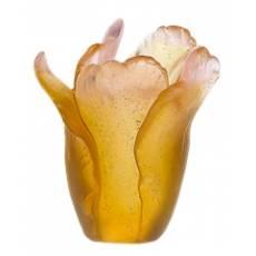 """Ваза для цветов коричневая""""Tulipe"""" Daum 05158/C"""