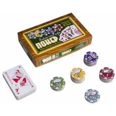 Походный набор для покера на 88 фишек zdppoker