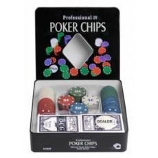 """Набор для покера """"Holdem Light"""" на 100 фишек с номиналом hl100"""