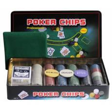 """Набор для покера """"Holdem Light"""" на 300 фишек с номиналом hl300"""