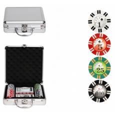 "Набор для покера ""Royal Flush"" на 100 фишек rf100"