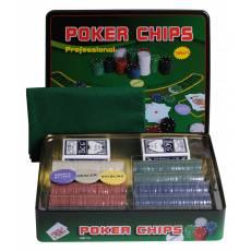"""Набор для покера """"Holdem Light"""" на 500 фишек с номиналом hl500"""