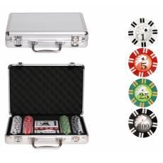 "Набор для покера ""Royal Flush"" на 200 фишек RF200"