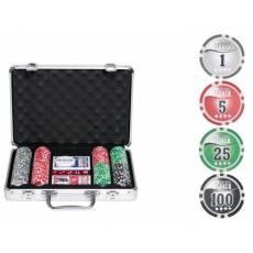 "Набор для покера ""NUTS"" на 200 фишек n200"