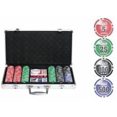 """Набор для покера """"NUTS"""" на 300 фишек + сукно в подарок n300"""