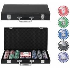 "Набор для покера ""Leather Black"" на 300 фишек Lblack300"