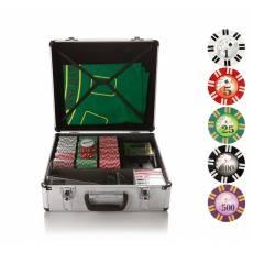 """Набор для игры в покер и блэк-джек """"Royal Flush"""" на 600 фишек RF600"""