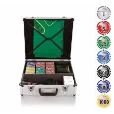 """Набор для игры в покер и блэк-джек """"Nuts"""" на 600 фишек N600"""