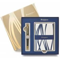 Подарочный набор: Шариковая ручка Waterman Hemisphere + набор открыток 1937583