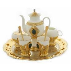 Набор для кофе на 2 персоны Златоуст Авторские работы RV23607CG