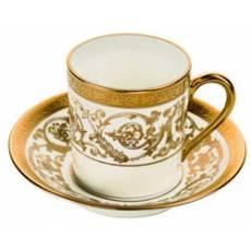 Чашка чайная с блюдцем Orangerie Gold Christofle 7660520