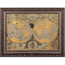 Карта мира сувенирная Златоуст Авторские работы RV0016158CG