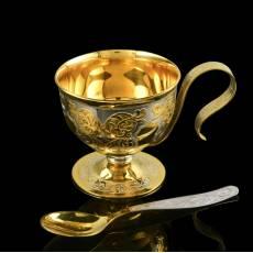 """Чашка кофейная """"Восточная"""" Златоуст RV0036688CG"""