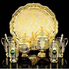 """Чайный набор """"Чаепитие"""" Златоуст RV0037227CG"""