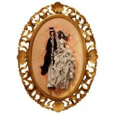 """Картина овальная """"Свадебная пара"""" Zampiva 96127/Z"""