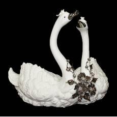 "Скульптура ""Лебединая пара"" Bruno Costenaro ST43/1-BP"