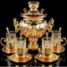 """Набор с самоваром """"Русский чай"""" RV0040444CG"""