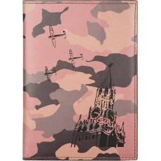 """Обложка для паспорта """"Над спасской башней"""" Gourji G04P-MILITARY-TM"""
