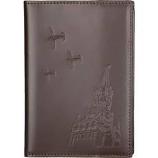 """Обложка для паспорта """"Над спасской башней"""" Gourji G04P-TM"""