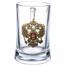 """Кружка пивная """"Герб"""" ЭМ249"""