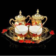 """Златоуст набор чайный """"Маки"""" на 2 персоны RV0040677CG"""